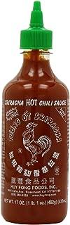 Huy Fong, Sriracha Hot Chili Sauce, 17-Ounce Bottles (Pack of 6)