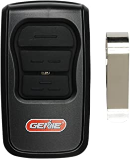 GenieMaster 3-Button Garage Door Opener Remote - Compatible with Genie Garage Door Openers Made Since 1993 with Intellicode Technology and/or  9/12 Dipswitches - Model GM3T-R