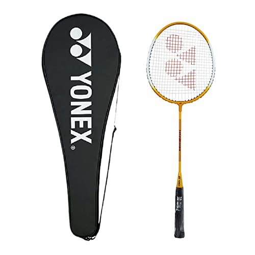 Yonex GR 303 Aluminum Blend Badminton Racquet with Full Cover (Yellow)