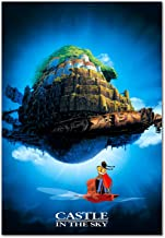 Printing Pira Castle in The Sky Anime Poster - Studio Ghibli Art (24x36)