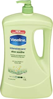 Vaseline Intensive Care Body Lotion Aloe Soothe, 1.5L