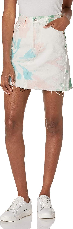 Levi's Women's 超人気 専門店 Premium 予約販売 Skirt High-Rise Deconstructed