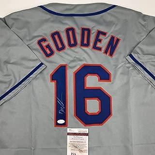 doc gooden signed baseball