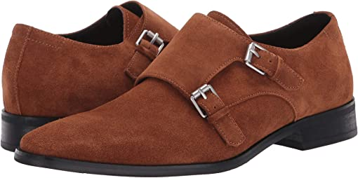 Tan Calf Suede