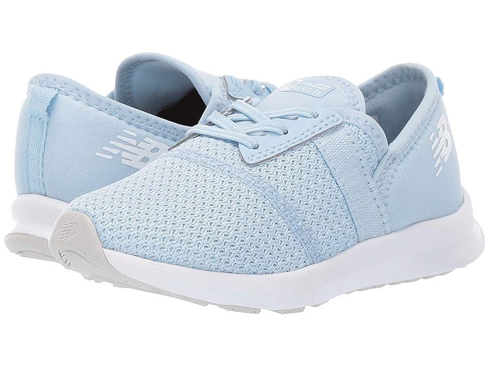 New Balance Kids IPNRGv1 (Infant/Toddler) (Air/Munsell White) Girls Shoes
