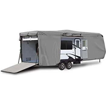 COVERS CLASS A ENGINE /& SIDE STORAGE AREAS B 31-34 20-25 SIZES 26-30 C RVs TRAVEL TRAILER CAMPER ZIPPERED PANELS ACCESS TO THE DOOR RV MOTOR HOME COVER 31-34 /& 35-40