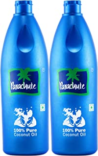 Parachute Coconut Oil, 600 ml (Pack of 2)