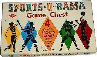 Warren Built-Rite Games Vintage Sports-O-Rama Game Chest: Basketball - Football - Baseball - Golf