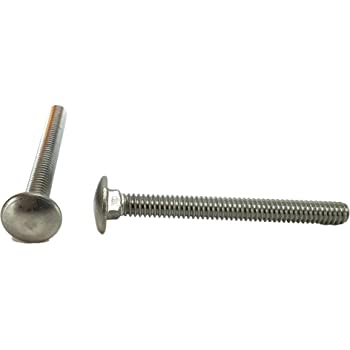"50 pcs 1//4-20 x 2-1//4/"" Stainless Steel Carriage Bolt 1//4 x 2 1//4"