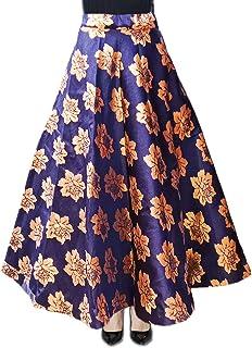 DB ENBLOC Women's Now Umbrella Cut Skirt for Party/Festival Function