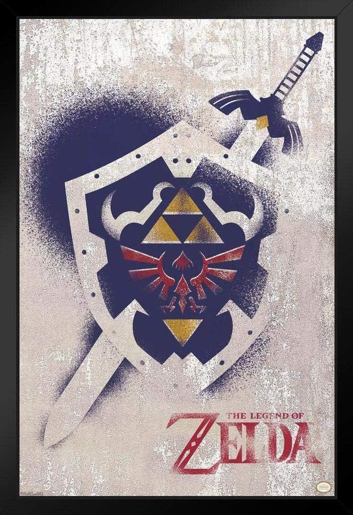 Brand new Pyramid America Legend of Zelda Sword Graffiti Shield and Deluxe Bl Art