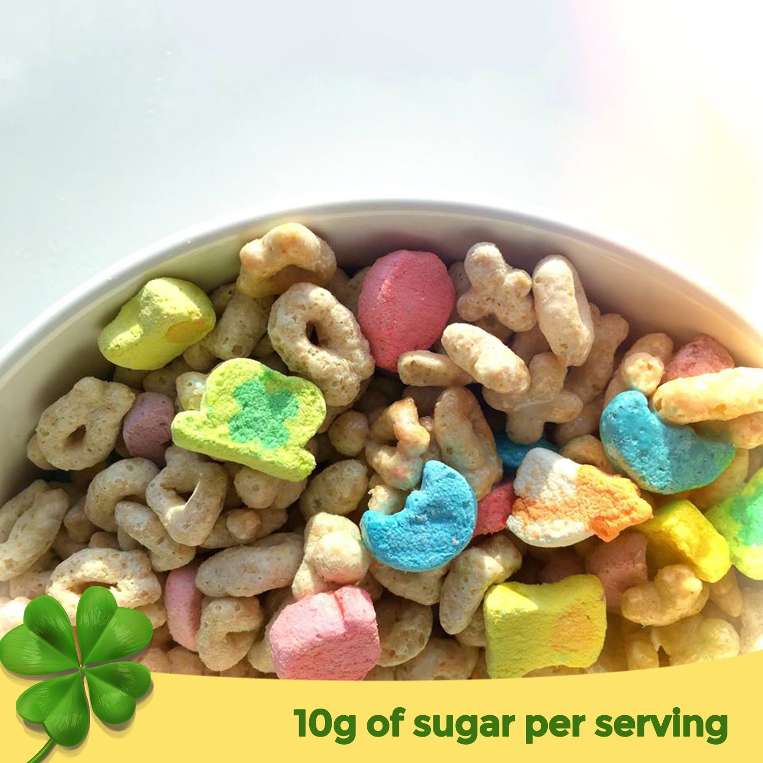 Lucky Charms Cereal, 16-Ounce (Pack of 14 )