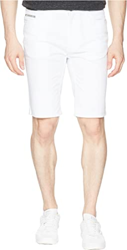 "Calvin Klein Jeans 10.5"" Five-Pocket Calvary Twill Shorts"