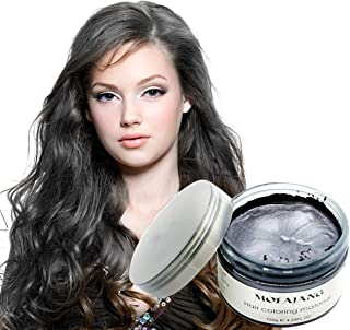 MOFAJANG Unisex Hair Color Dye Wax Styling Cream Mud, Jakuva Natural Hairstyle Pomade, Temporary Jakuva Hair Dye Wax for Party, Cosplay & Halloween, 4.23 oz