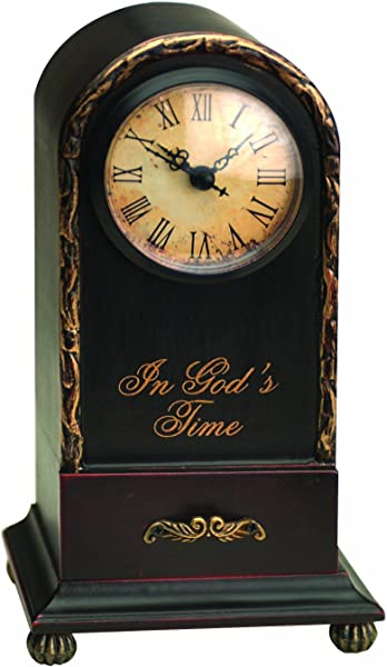 Manual Time Well Spent Table Top Analog Clock In God S Time 9 5 Inch