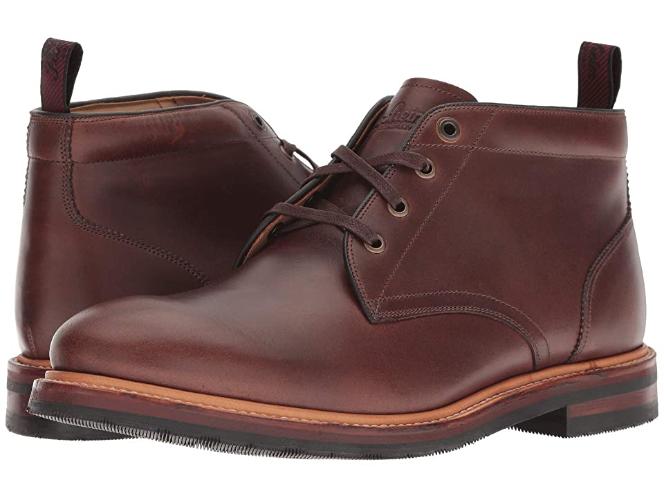 Florsheim Foundry Plain Toe Chukka Boot (Brown Horween) Men