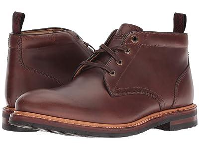 Florsheim Foundry Plain Toe Chukka Boot (Brown Horween) Men