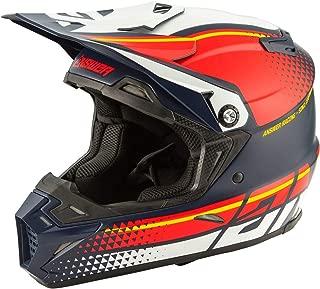 Answer 2020 AR5 Helmet - Korza (Large) (Midnight/RED/White)