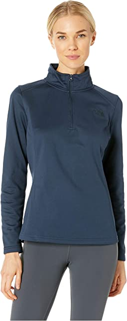 745b9429b072 The north face glacier 1 4 zip fleece top cosmic blue heather cosmic ...
