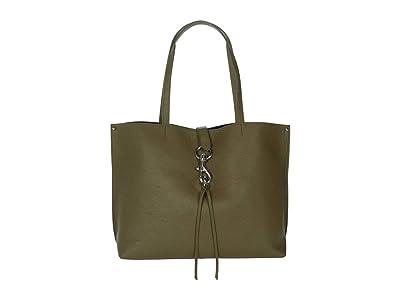 Rebecca Minkoff Megan Tote (Green Olive) Handbags