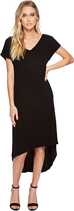 Michael Stars - Rylie Rayon Short Sleeve High-Low Dress