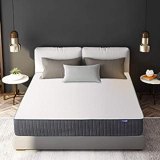 Sweetnight King Mattress,10 Inch King Size Mattress in a Box-Gel Memory Foam Mattress/Flippable Bed Mattresses for Pressur...