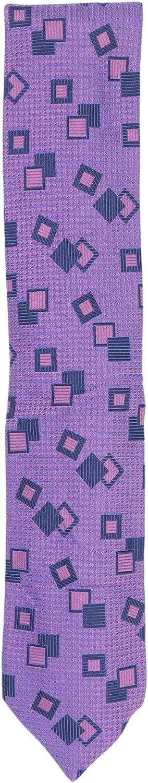 Altea Milano Men's Square and Diamond Pattern Necktie