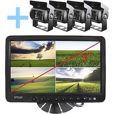 Yatek Kit Für Rückwärts Oder Rückfahrkamera Mit 4 Elektronik
