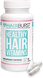 Hairburst ™ ️ Vitaminas para el crecimiento del cabello - Un suministro de un mes - 60 cápsulas - Crecimiento más rápido del cabello y garantía de devolución de dinero!