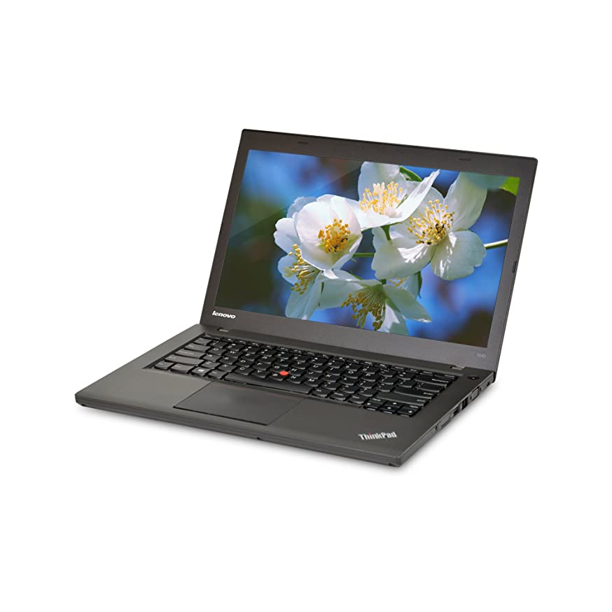 Lenovo ThinkPad T440 14in Laptop, Core i5-4300U 1.9GHz, 8GB Ram, 500GB SSD, Windows 10 Pro 64bit (Renewed)
