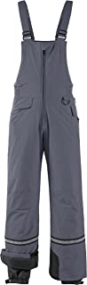 Wantdo Men's Waterproof Ski Pants Insulated Warm Snow Bib Pants Winter Overall