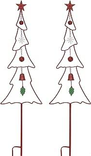 Christmas Yard Garden Stakes Decor- Set Of 2 53