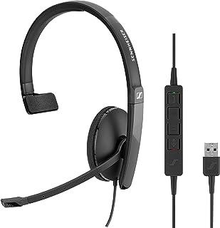 【国内正規品】EPOS | SENNHEISER USB接続 片耳 UC ヘッドセット SC 130 USB AWSテクノロジーパートナー認定製品