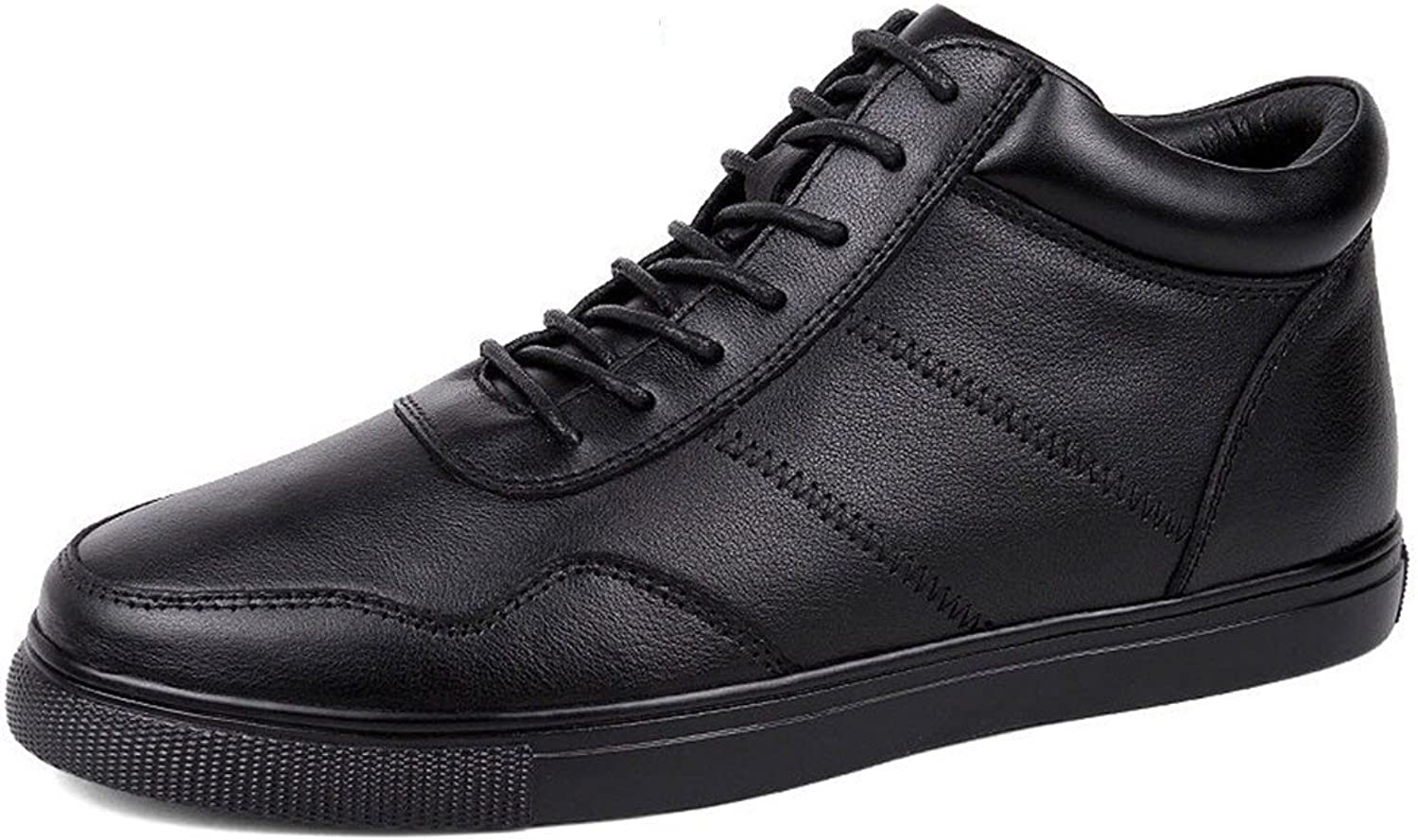 ZQ@QXLeather casual men's shoes winter Super code fashion casual shoes