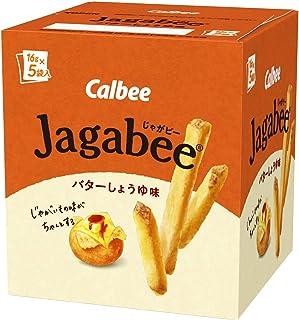 カルビー Jagabee バターしょうゆ味 80g