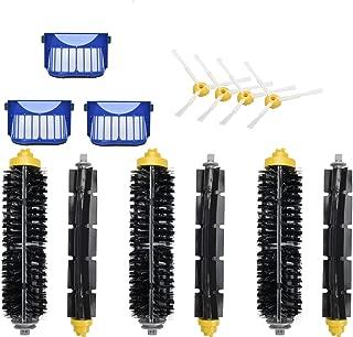 Hapo 13pcs Replacement Accessories Kit for iRobot Roomba 600 Series 600 610 611 614 627 620 630 650 660 665 690, 6 Main Brush,4 Side Brush,3 Filter