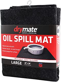 Drymate Oil Spill Mat, Premium Absorbent Pad Contains Liquids – Reusable/Durable/Waterproof –...