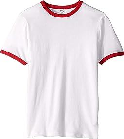 Keeper Vintage Jersey Ringer T-Shirt (Big Kids)