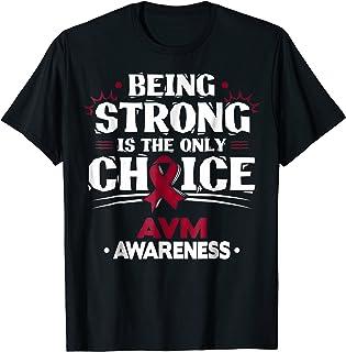 AVM Awareness T-Shirt - Arteriovenous Malformation Tee