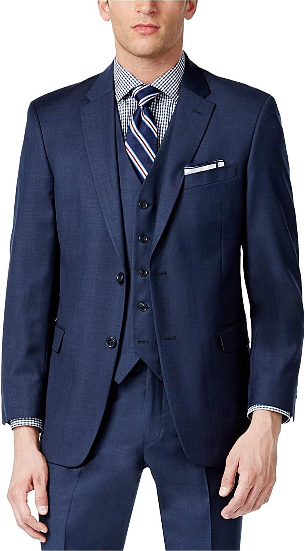 Tommy Hilfiger Mens Trim Fit Two Button Blazer Jacket