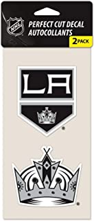 WinCraft NHL Los Angeles Kings Perfect Cut Decal (Set of 2), 4