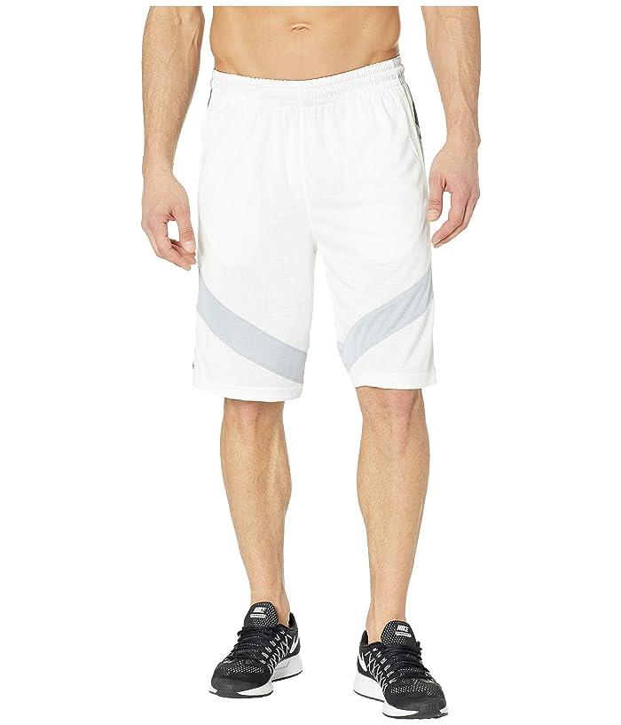 Nike Dry Courtlines Shorts Print (White/Wolf Grey/Black) Men