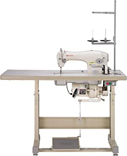 SINGER 191D-30 Complete Industrial Commercial-Grade Straight-Stitch Sewing Machine Ideal for Medium to Heavy Fabrics