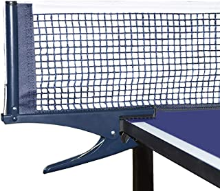 Luniquz Table Tennis Net with Post, Ping Pong Replacement Net for Indoor & Outdoor Play, Lightweight & Compact for Adults & Kids