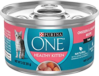 Purina ONE 12-3 oz Cans Healthy Kitten