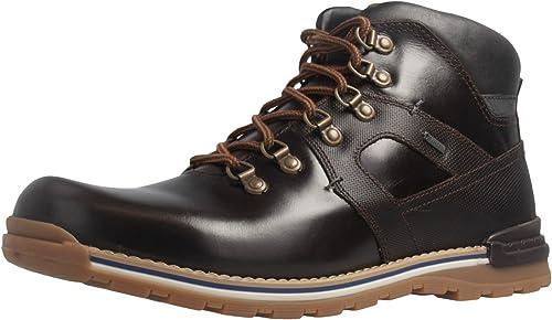 FRETZ men - botas de Piel para hombre negro moca