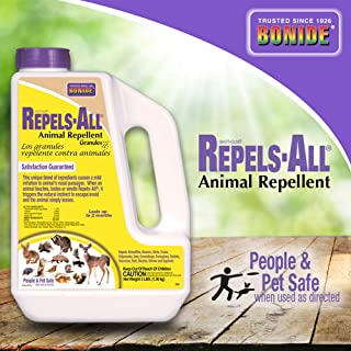 Bonide (BND2361) – Repels-All Animal Repellent, Granules (3 lb.)