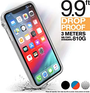 Catalyst iPhone XR Clear Case Impact Protection, Military Grade Drop and Shock Proof Premium Material Quality, Heavy Duty, Slim Design, Clear