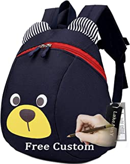 Children Kids Small Toddler Backpack with Leash Bear for Boy Girl Under 3 Years