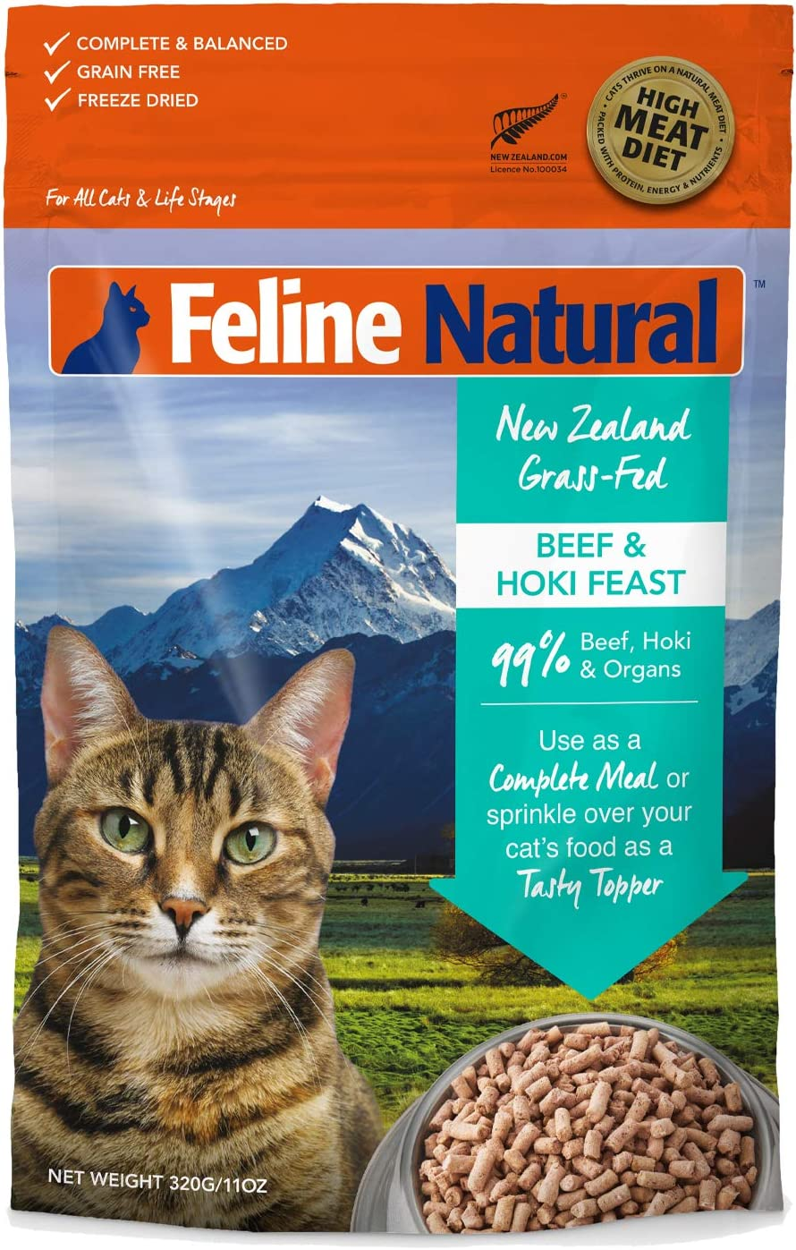 Feline Natural Grain-Free Free Shipping New Freeze Dried Max 65% OFF Food Cat